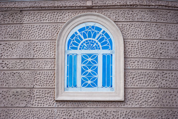 Windows with iron ornamental
