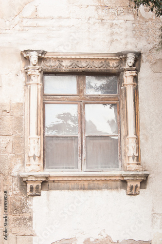 canvas print picture historisches Fenster