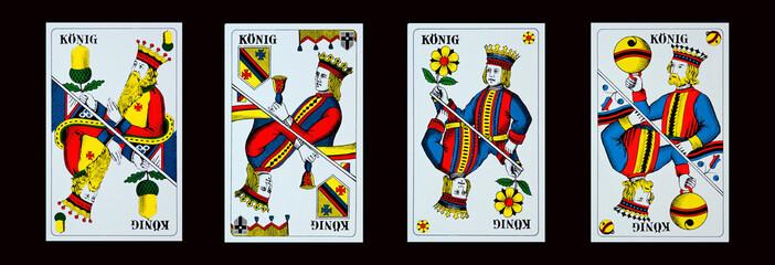Spielkarten - Jassen - KÖNIGE