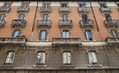 Liberty building in Milan