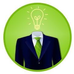 Green Business Idea Badge