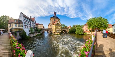 Bamberg, Brückenrathaus
