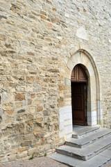 Le castellet - église