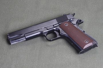 background with colt government m1911