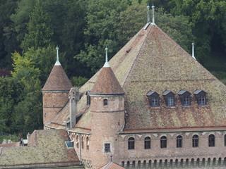 Detalle de Lausanne (Suiza)
