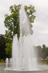 Fontein in de tuin van Het Loo, Apeldoorn