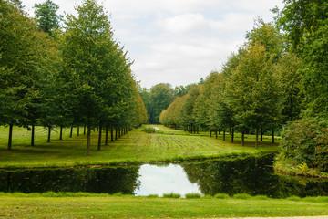 Park van paleis Het Loo. Apeldoorn