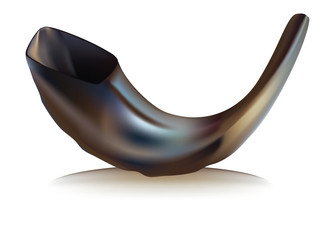 Shofar- vector illustration