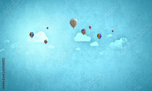 Flying aerostats - 69866805
