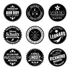 Circular Badges