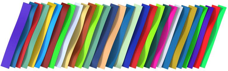 Plastic belts background