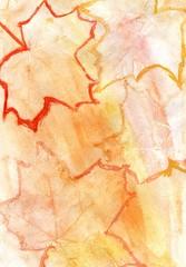 Orange Yellow Gouache