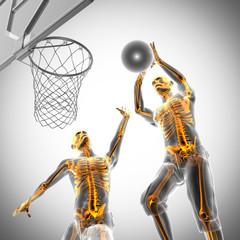 basketball game player radiography image