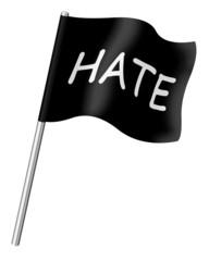 HATE flag
