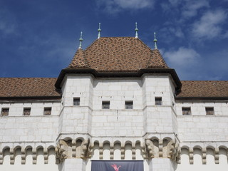 Castillo de Annecy en Francia