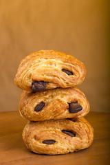 Three croissant