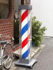 理髪店のサインポール