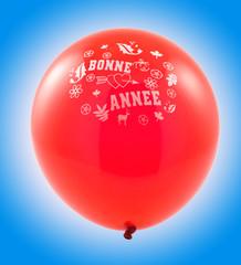 ballon rouge bonne année
