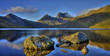 canvas print picture - Cradle Mountain und Dove Lake