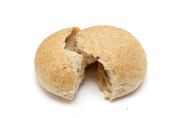 Cracked bread roll