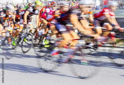 Foto op Plexiglas Fietsen gara ciclistica
