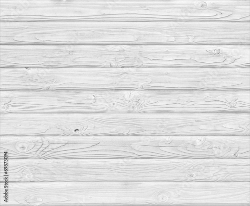 canvas print picture white wood planks background