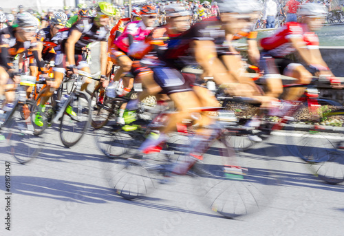 Poster Gara ciclistica