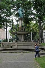 Der Heinrichsbrunnen in Braunschweig