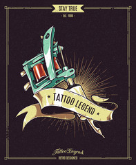 Tattoo Legend Poster