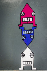 Graffiti bonhommes