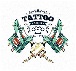 Tattoo Studio Poster
