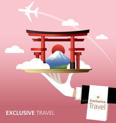 Japan,mount fuji,travel,exclusive,The tori gate