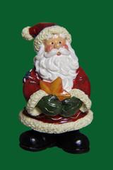 Weihnachtsdekoration, Weihnachtsmann -Figur