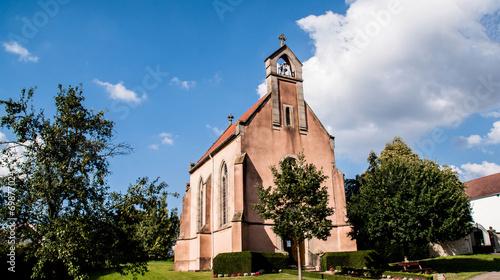 canvas print picture Kirche in Düren