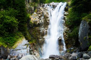Alpine waterfall