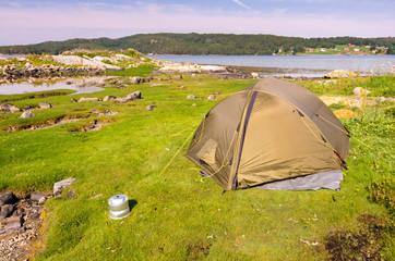 Norwegian wild camping