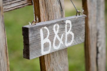 B&B Signboard