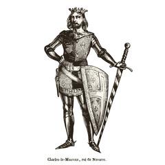 Charles le mauvais - roi de Navarre