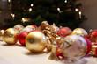canvas print picture - Festlicher Weihnachtsschmuck