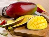 Fresh mango. Selective focus