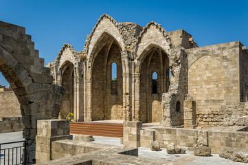 Romanic basilica ruins