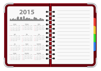 calendar 2015 organizer
