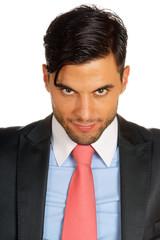 Smiling business man portrait