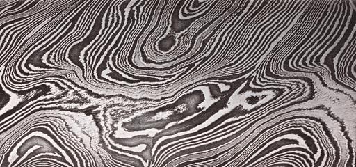 Pattern of Damask steel