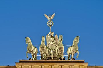 The Brandenburger Tor at Berlin, Germany