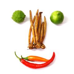 Ingredients for Thai Cuisine.