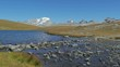 alpine landscape in summer