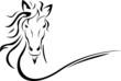 horse head vector - 69883247