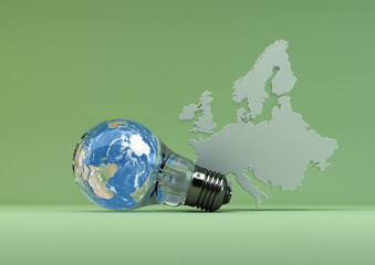 Green Energy in Europe - green