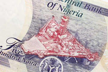 Part of Nigerian currency
